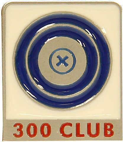 EMPIRE PEWTER MFG CO Empire 300 Club Pin 2''x1'' Pwtr 29460