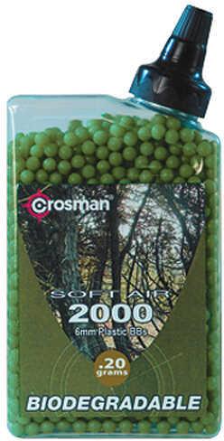 Crosman Airsoft Match Ammo Biodegradable .20 g 2000 pk. Model: SAP2020E