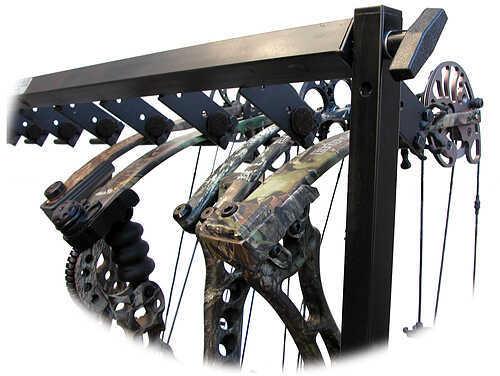 C.W. Erickson's Mfg., Inc. / ArcherHunter CW ERICKSONS MFG INC C.W. Erickson Floor Deluxe Adjustable Bow Display 10 Bow 48''L x 48''H 30453
