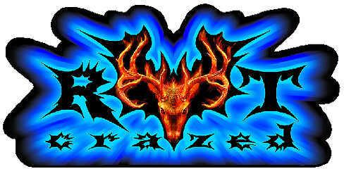 LVE HUNTING DECALS LLC LVE Large Decal - Rut Crazed Deer 30693