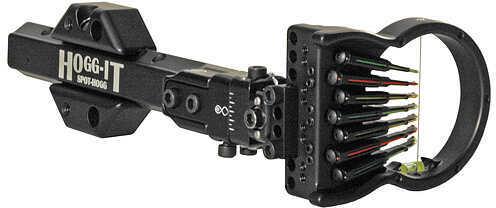SPOT-HOGG ARCHERY PRODUCTS Spot Hogg Hogg-it 5 Sight w/Wrap Pin RH 5 Pin .019'' Sm Guard 31049