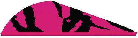 Bohning Archery Bohning Blazer Tiger Stripe Vanes 2 Pink 36/pk. 31114
