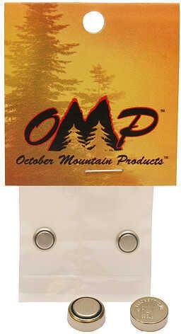 October Moutain OMP #392 Silver Oxide Batteries 2/pk. 31345