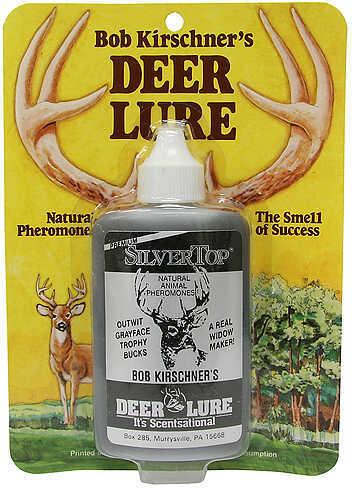 B. Kirschner Deer Lure B KIRSCHNER DEER LURE Kirschner's Silver Top Premium 3oz 31504581