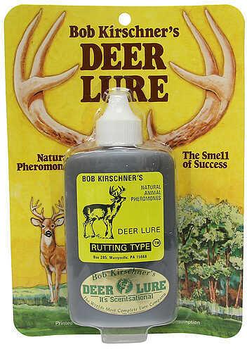B. Kirschner Deer Lure B KIRSCHNER DEER LURE Kirschner's Rutting Type Deer Lure 3oz 31504587