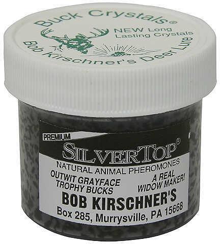 B. Kirschner Deer Lure B KIRSCHNER DEER LURE Kirschner's Buck Crystals Silver Top 2oz 31504593