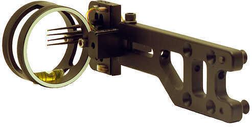 SWORD SIGHTS LLC Sword Apex Hunter Sight RH Black 4 Pin .019 32204