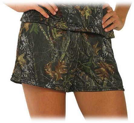 WEBER'S CAMO LEATHER GOODS Webers Women's Loungewear Camo Shorts XL MO-BrkUp 32763