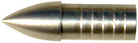Victory Archery / Aldila VICTORY ARCHERY/ALDILA Victory V-22 .300'' Stainless Steel Glue-In Target Points 100gr. 12/pk. 32823