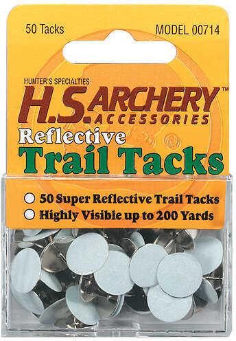 Hunter Specialties HS REFLECTIVE TRAIL TACKS WHT 50PK 00714