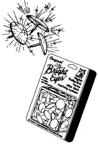 Lewis Hunting Accessories Lewis Original Bright Eyes Plastic Box 50/pk 34808930