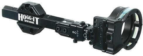 SPOT-HOGG ARCHERY PRODUCTS Spot Hogg Hogg-It 7 Pin Sight w/Wrap Pins RH 7 Pin .019'' Lg Guard 35068