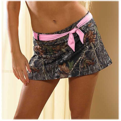 Wilderness Dreams Swim Skirt Mossy Oak BreakUp/Pink Medium Model: 606421-MD