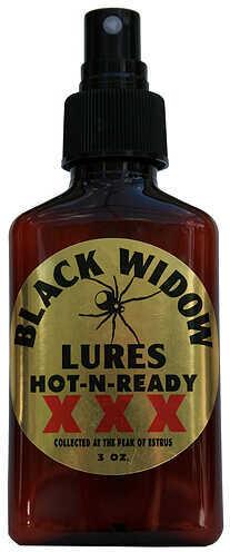BLACK WIDOW DEER LURES Black Widow Hot-N-Ready XXX Deer Lure 3oz. 35748