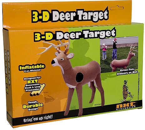 NXT GENERATIONS LLC NXT Gen 3-D Deer Target Inflatable 11''x2''x9''H 35968