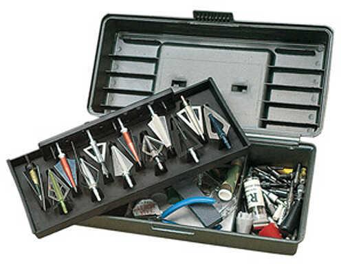 MTM Broadhead Tackle Box - 12 Heads - Wrench Wild Camo BH-12-09