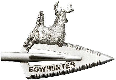 EMPIRE PEWTER MFG CO Empire Broadhead w/Deer Pin Pwtr 36437