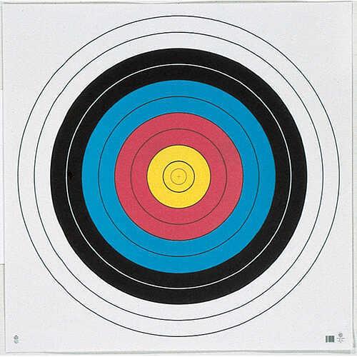 Maple Leaf Press Inc. MAPLE LEAF PRESS INC Maple Leaf FITA 10-Ring Four Color Face 122 cm (48'') Tag Wt 365036122