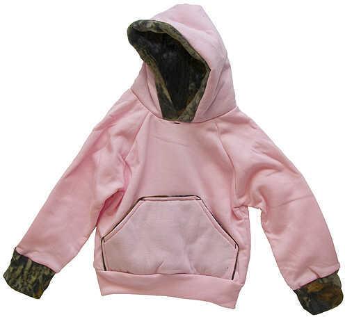 Bonnie's Sportswear Hooded Pink Sweatshirt 6-7T Pink/Camo 36730