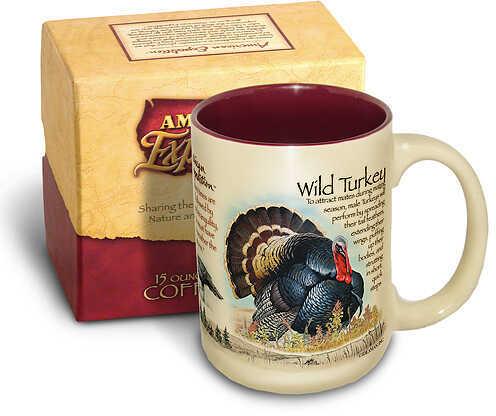 Ideaman Inc. / AM Expedition AM Expedition Wildlife Coffee Mug - Wild Turkey 15oz. 37202