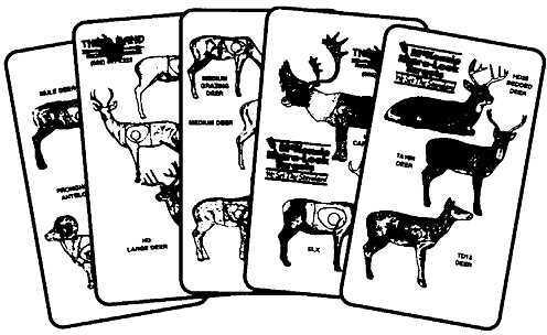 THIRD HAND ARCHERY ACCESSORIES Third Hand McKenzie Natra-Look Mini Score Card Holder 3758