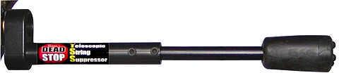 ROBIN HOOD VIDEOS PROD Bernies Dead Stop Telescopic String Suppressor Rear Mount Black 38006