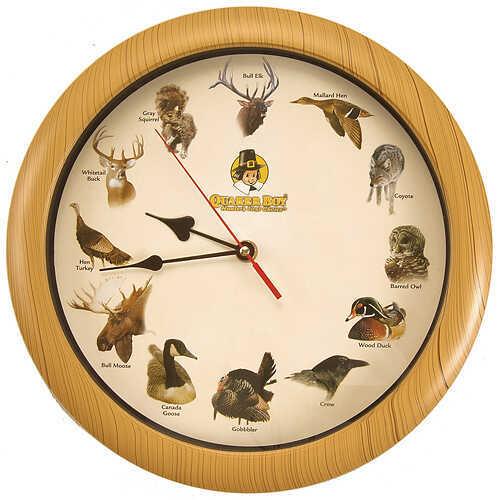 Quaker Boy Clock - Sounds of the Wild 80120