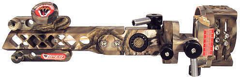 VIPER ARCHERY PRODUCTS Viper Diamondback Dovetail Sight w/Microtune RH Lost 5 Pin .019 38535