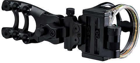 TROPHY RIDGE LLC/ESCALADE SPOR Trophy Ridge Hitman 5 Pin Micro Adjust Sight RH/LH Black 5 Pin .019'' 38712