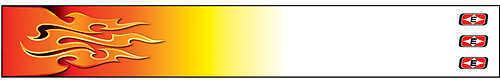 Easton Outdoors Easton Shrink Arrow Wraps - Flames 7'' Flames Red 12/pk. 416768
