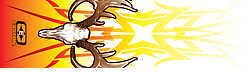 Easton Outdoors Easton Shrink Arrow Wraps - Deer 7'' Deer 12/pk. 816771