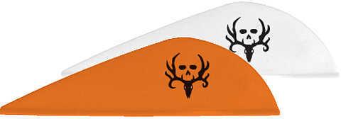 New Archery NAP Quik Spin ST Vanes Bone Collector Vanes Combo Pack 2'' 12 white, 24 orange 39439