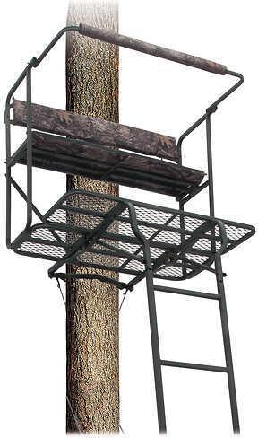 Big Dog Treestands Big Dog Tree Stand Red Tick II, 2-Person Treestand, 17.5 Feet