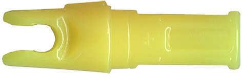 Gold Tip Accu-Tough .204 Nocks .204 Fl Yellow 12/pk. 45645
