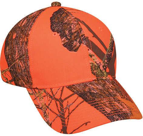 Outdoor Cap Blaze Orange Hat w/Velcro Closure Blaze Orange 350