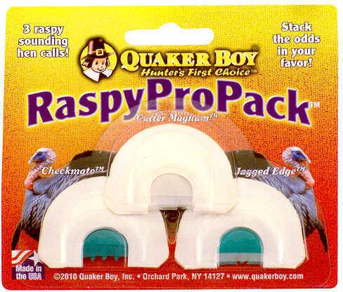 Quaker Boy Raspy Pro Pack Diaphragm Calls 11314