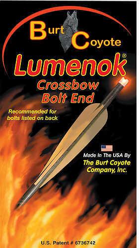 Lumenok Burt Coyote Crossbow Bolt Gold Tip Flat 34.8gr Red 3/pk. 47121
