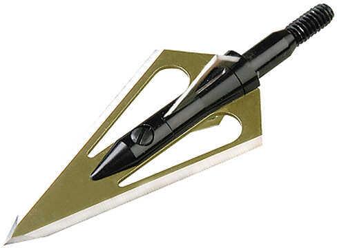 Magnus Outdoor Products MAGNUS ARCHERY COMPANY Magnus Stinger 4 Blade 4 bld. BH 150 gr. 3/pk 47139