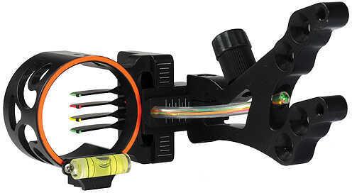 Cobra Archery Cobra Bushwhacker w/Light RH/LH Black 4 Pin - .019'' 47209