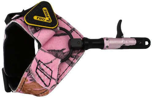 Tru-Fire Releases and Broadheads Tru-Fire Edge Release w/Buckle FoldBack Strap Pink Buckle 47367