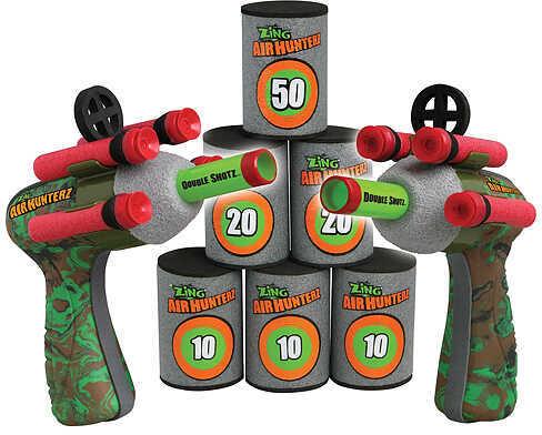 OZWEST INC dba ZING Zing Air Hunterz Double Shotz 2 Blasters 47402