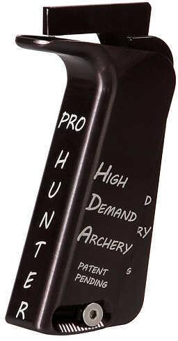 HIGH DEMAND ARCHERY LLC High Demand Hunter Adjustable Grip Kit Mathews Wood or Focus RH Black 47651