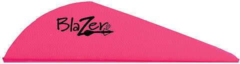 Bohning Archery Bohning Blazer Vanes 2 Hot Pink 1000/pk. 47661