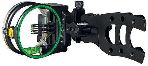 "TROPHY RIDGE LLC/ESCALADE SPOR Trophy Ridge Hit-Man Micro 5 Pin Sight 5 Pin .010"" RH/LH Black 48281"