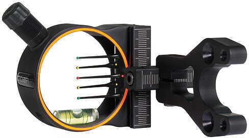 """Cobra Archery Cobra Venom G2 Sight w/Ultra TKO Pins w/Light 5 Pin- .019"""" Black 48402"""