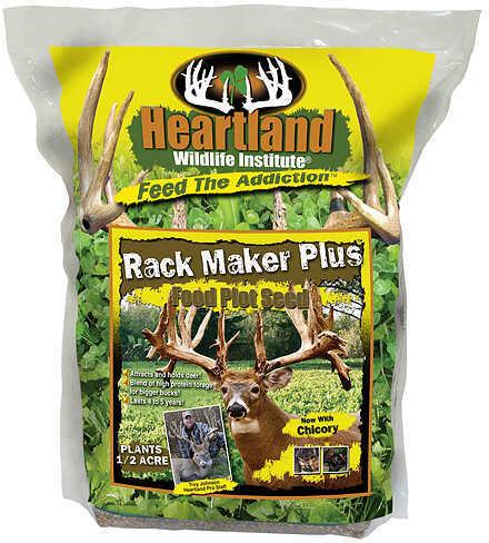 HEARTLAND WILDLIFE INSTITUTE Heartland Rack Maker Plus w/Chicory 4.5lbs Perennial 48493