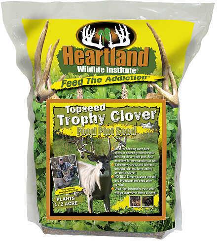 Heartland Wildlife Institute Heartland Topseed Trophy Clover 4.5lbs Perennial 48497