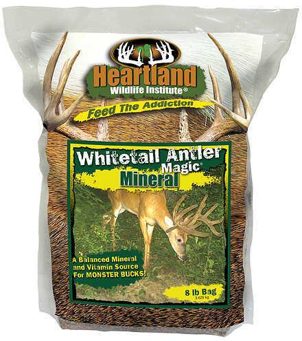 Heartland Wildlife Institute Heartland Antler Magic Mineral 8Lbs Annual