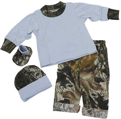 Bonnie's Sportswear L/S Blue Jumper Set 3-6 Mnths Blue/MossyOak 50858