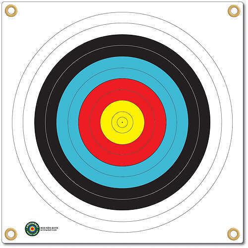 Arrowmat Foam Rubber Target Face - 4 Color Round 17''x17'' 50945
